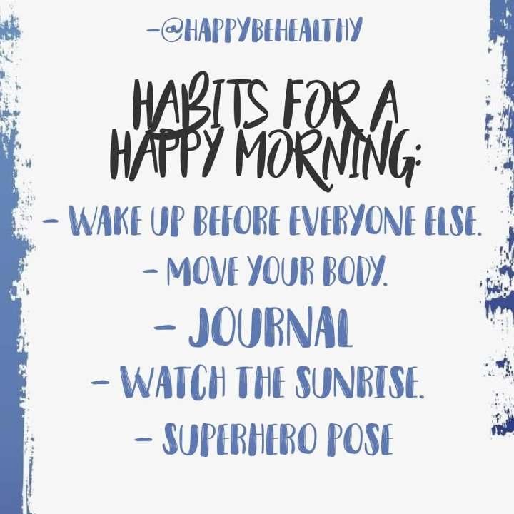 morninghabits